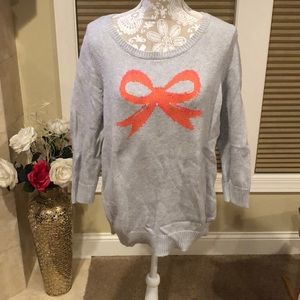 American Eagle Bow Sweater